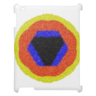 モダンで多彩なパターン iPadケース