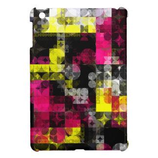 モダンで幾何学的なiPadの場合 iPad Miniカバー