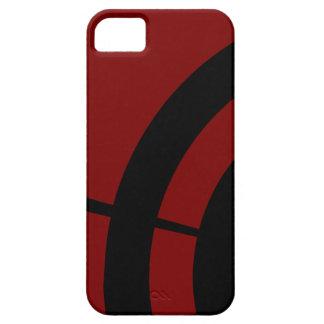 モダンで赤いGilmore iPhone SE/5/5s ケース