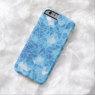 モダンで青い水晶パターンiPhone6ケース Barely There iPhone 6 ケース