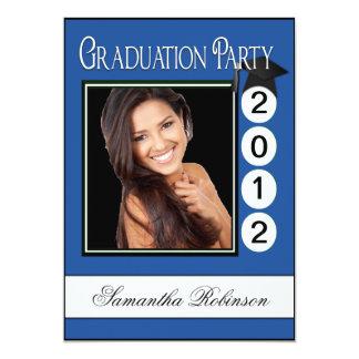 モダンなおもしろいの卒業パーティーのカスタムの写真 カード