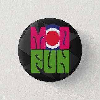モダンなおもしろいのpSyChOuTのロゴボタン 3.2cm 丸型バッジ