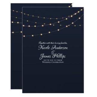 モダンなひもはシンプルで素朴でミニマルな結婚式をつけます カード