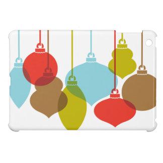 モダンなオーナメントのレトロのクリスマスのiPad Miniケース iPad Miniケース