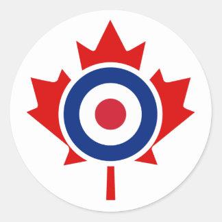 モダンなカナダのカールのホッケーターゲットRoundel ラウンドシール