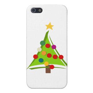モダンなクリスマスツリーのデザイン iPhone 5 CASE