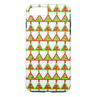 モダンなクリスマスツリーパターン iPhone 8 PLUS/7 PLUSケース