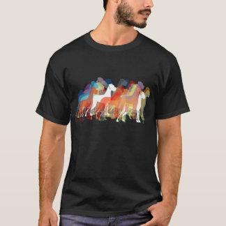 モダンなグレートデーン Tシャツ