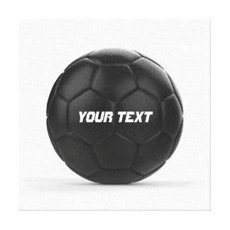 モダンなサッカーのアイディア キャンバスプリント