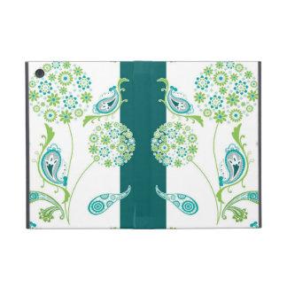 モダンなタンポポのスタイルの花wのペイズリーパターン iPad mini ケース