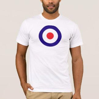 モダンなターゲット Tシャツ
