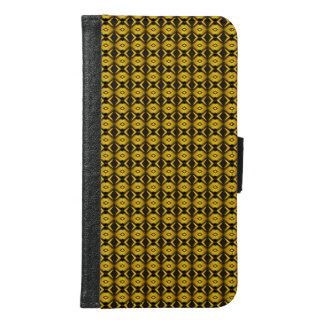 モダンなトレンディーのカッコいいパターン GALAXY S6 ウォレットケース