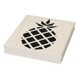 モダンなパイナップルシルエットのゴム製芸術のスタンプ ラバースタンプ