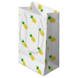 モダンなパイナップルデザイン スモールペーパーバッグ