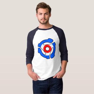 モダンなビニールのアダプターのワイシャツ Tシャツ