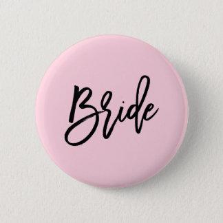 モダンなブライダルパーティの結婚式 5.7CM 丸型バッジ