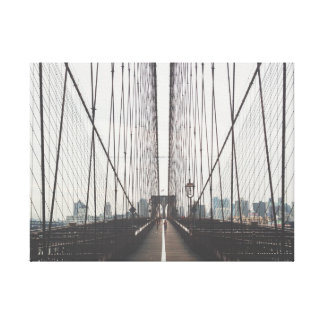モダンなブルックリン橋のキャンバス キャンバスプリント
