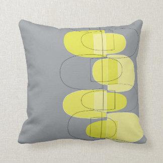 モダンなポッドの黄色い装飾用クッション クッション