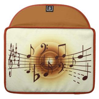 モダンなミュージシャンの袖 MacBook PROスリーブ