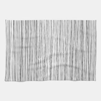 モダンなラインパターン台所タオル キッチンタオル