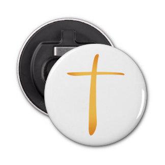 モダンなラテン系のキリスト教の十字 栓抜き