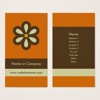 モダンなレトロの名刺か社会的なネットワーキングカード 名刺