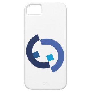 モダンなロゴ iPhone SE/5/5s ケース