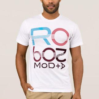 モダンなロボット+1 Tシャツ