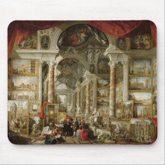 モダンなローマ1759年の眺めのギャラリー マウスパッド