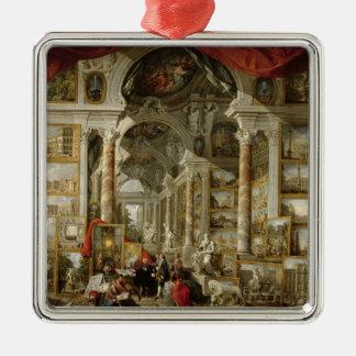 モダンなローマ1759年の眺めのギャラリー メタルオーナメント