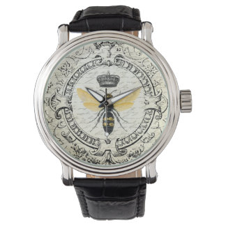 モダンなヴィンテージのフランスのな女王バチ 腕時計