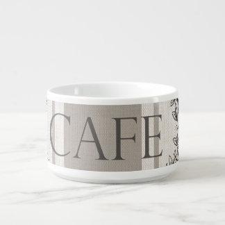 モダンなヴィンテージのフランス人のカフェ チリボウル