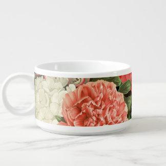 モダンなヴィンテージの植物のピンクの花 チリボウル
