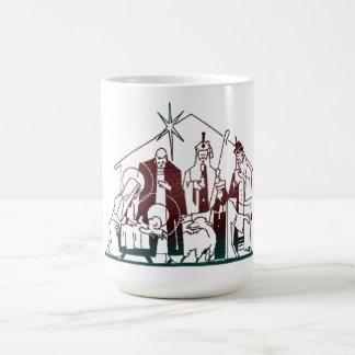 モダンな出生のクリスマスの芸術 コーヒーマグカップ