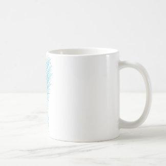 モダンな刺繍2 コーヒーマグカップ