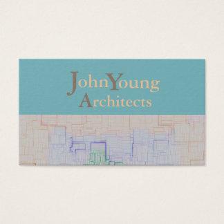 モダンな建築業サイトマップ>名刺 名刺