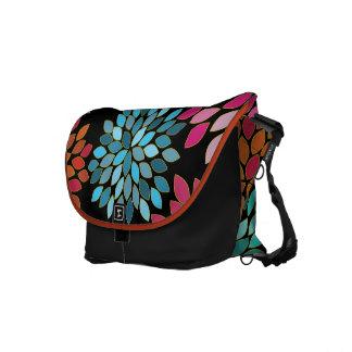モダンな星の破烈の花の通勤者のバッグ メッセンジャーバッグ