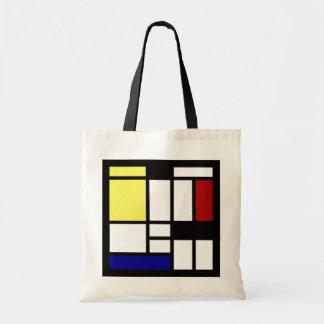 モダンな正方形の芸術 トートバッグ