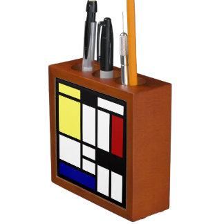 モダンな正方形の芸術 ペンスタンド