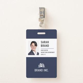モダンな法人企業ID バッジ