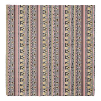 モダンな種族のアズテック派の金ゴールドホイル幾何学的なパターン 掛け布団カバー