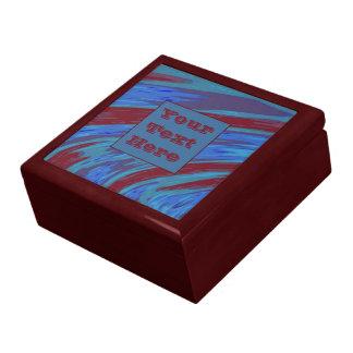 モダンな紫系統色の棒 ギフトボックス