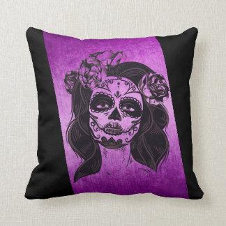 モダンな紫色の枕 クッション
