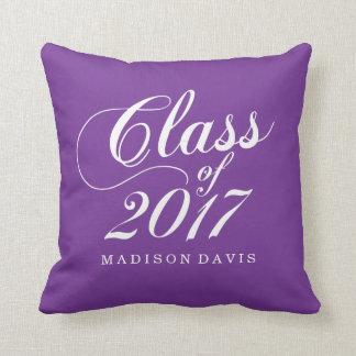 モダンな紫色|の卒業 クッション