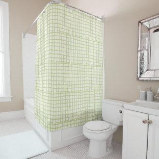 モダンな網のシャワー・カーテン シャワーカーテン
