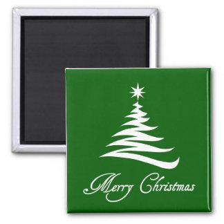 モダンな緑のクリスマスツリーの磁石 マグネット