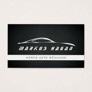 モダンな自動詳述の自動車修理の名刺 名刺