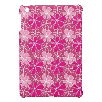 モダンな花パターン-ピンク iPad MINI CASE