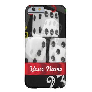 モダンな賭博のサイコロ BARELY THERE iPhone 6 ケース