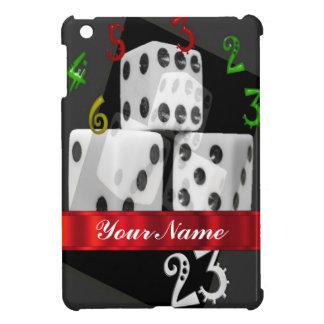 モダンな賭博のサイコロ iPad MINI カバー